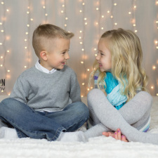 Children Holiday Christmas Photo
