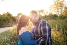 Palatine maternity photographer